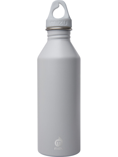 MIZU M8 - Gourde - with Light Grey Loop Cap 800ml gris